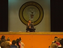 World Renowned Anti-Bullying Speaker Visits Central!