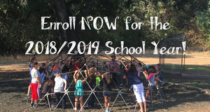 Enroll Now for the 2018/2019 School Year!