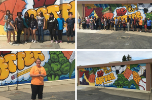 Newest Mural Dedicated on Tuesday, May 22!