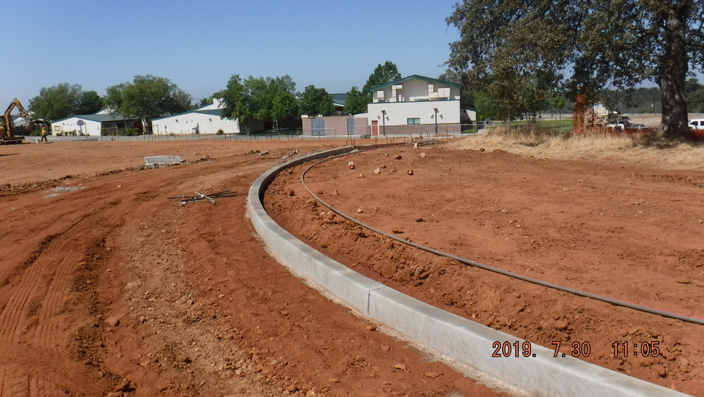 More progress on Ishi Hills Middle School Play Field and Pickleball Courts