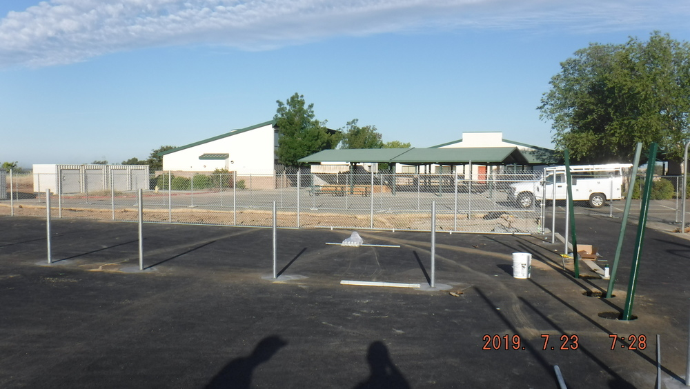 Ishi Hills field, track and pickleball court update