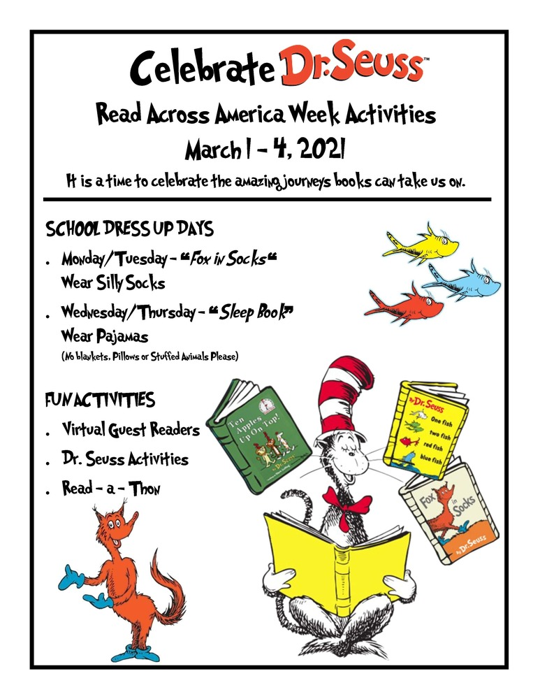 Read Across America at Ophir School