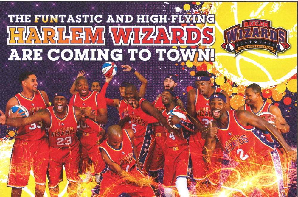 The Harlem Wizards are coming to town February 8!