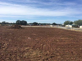 Ishi Hills field, track and pickleball courts are underway!