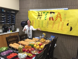 Oroville Elementary Teachers bring lunch to Paradise Elementary