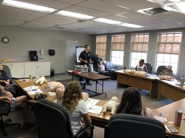 CPR Training with the Oroville Police Department