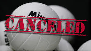 cancelled volleyball