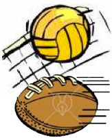 volleyball and flag football