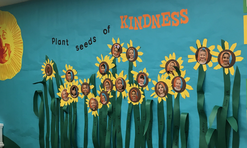 Mrs. Brockman's Seeds of Kindness.