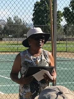Tennis Champion and Honoree, Roz Bell-King