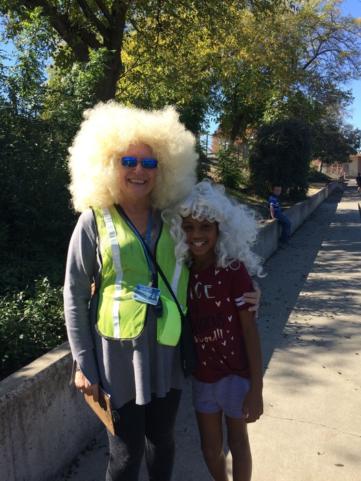 Crazy Hair Day at Stanford