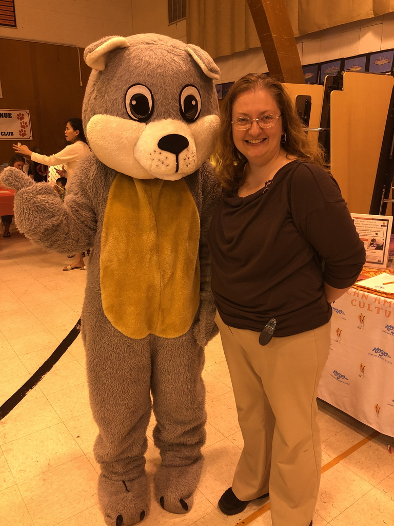 Board President Sandra Barnes and Chewy