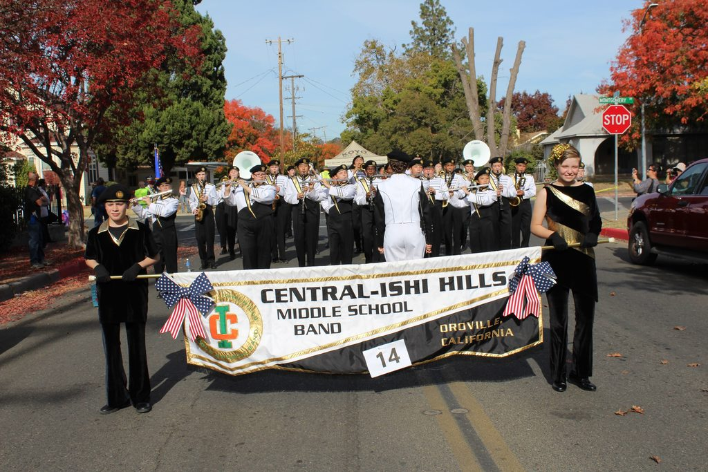 Central-Ishi Hills Middle School Band