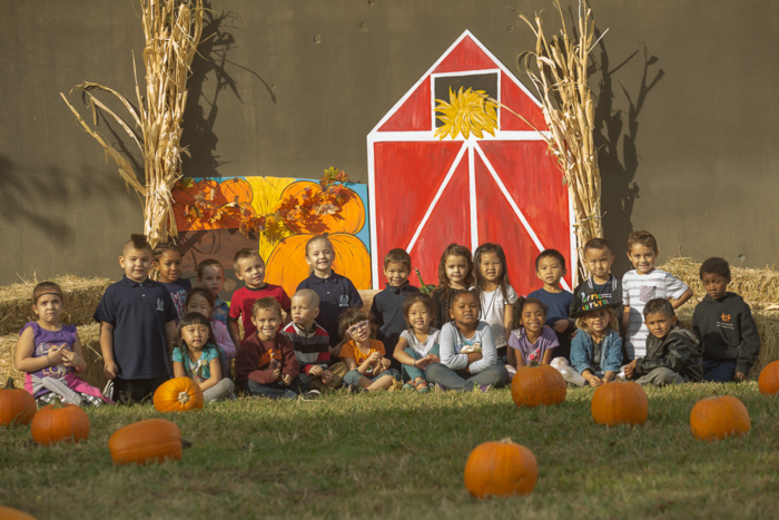 Class at Fall Festival