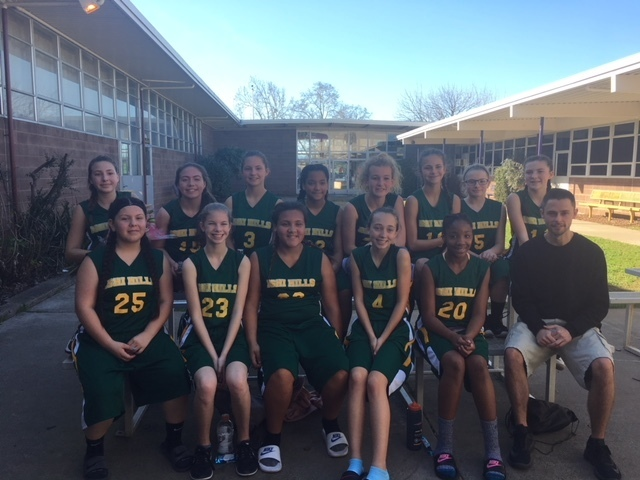 Ishi Hills Girls Basketball Tournament 2/3/2018