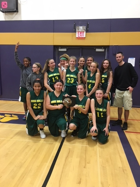 Ishi Hills Girls Basketball took 2nd place at their tournament this weekend!!