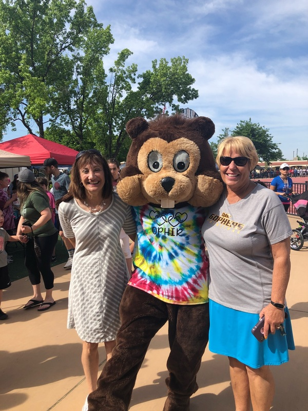 Superintendent Penny Chennell-Carter, Ophir Gopher and Principal Teresa Lightle