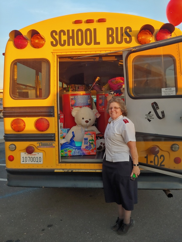 stuff the bus event
